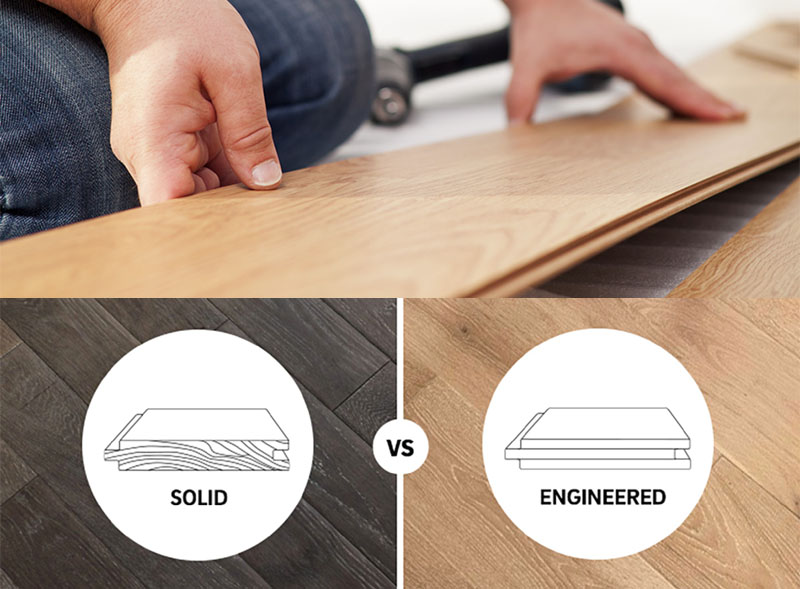 Engineered versus Solid Hardwood Construction